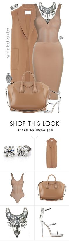 """""""Tan x Bling"""" by highfashionfiles ❤ liked on Polyvore featuring Alexander Wang, Givenchy, Giuseppe Zanotti and Blue Nile"""