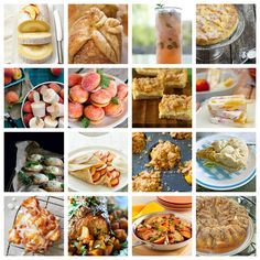 16 Best Peach Recipes for August!