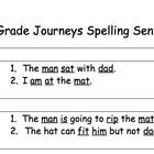 This document lists spelling words for all 30 lessons in the Houghton Mifflin Journeys reading series for first grade. First Year Teaching, Teaching Reading, Guided Reading, Learning, 1st Grade Spelling, Spelling Words, Journeys First Grade, Journeys Reading Series, Reading Boards