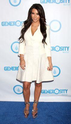 I like Kim Kardashian's shoes.