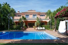 Villa for Sale in The Golden Mile, Costa del Sol. Fantastic villa enjoying a sought after location on The Golden Mile in Marbella, with easy access to all amenities including fine restaurants, luxury shopping, sandy beaches and sophisticated nightlife. Click on the image for more details about this stunning property.