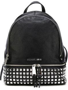 Shop Michael Michael Kors 'Rhea' studded backpack .