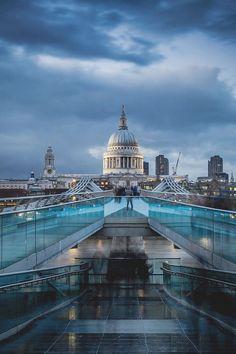 St. Paul´s, London.-