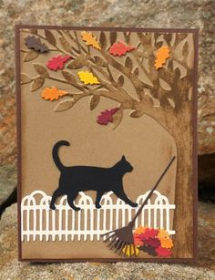 Fall Fun by catcrazy - Cards and Paper Crafts at Splitcoaststampers