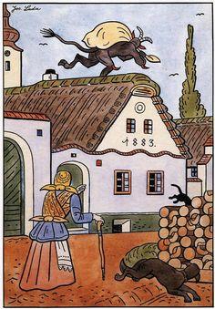 Painters, Mythology, Illustrators, Fairy Tales, The Past, Folk, Comics, Czech Republic, Drawings