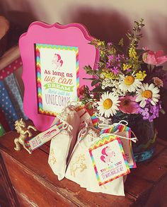 Magical Rainbow Unicorn Party