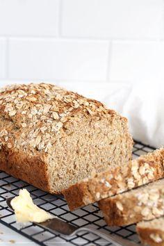 Irish Brown Soda Bread Recipe, Irish Brown Bread, Irish Bread, Salted Or Unsalted Butter, Traditional Irish Soda Bread, Bread Recipes, Cooking Recipes, No Yeast Bread, Tasty