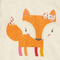bluezoo Pack of two girl's fox ditsy printed tops- at Debenhams Mobile