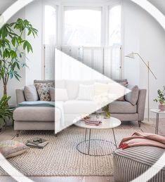 interior 2 may Pink Living Room Decor, Leather Couch Living Room Decor, Small Living Room Decor, Home Decor Furniture, Bedroom Decor, Interior Design Living Room, Blue Living Room Decor, Transitional Home Decor, White Home Decor