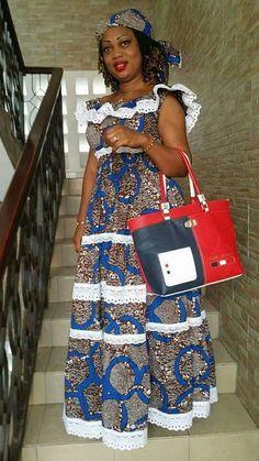 ★ African Print Dresses, African Print Fashion, Africa Fashion, African Fashion Dresses, African Dress, African Lace, African Wear, African Attire, African Women