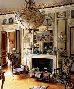 Квартира в стиле бель-эпок в Париже, 470 м² | AD Magazine http://www.admagazine.ru/inter/54474_kvartira-v-stile-bel-epok-v-parizhe-470-m.php