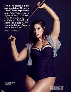 ea0797eabb Plus-size models form a coalition to promote beauty in all body types. Ashley  GrahamPlus ...