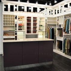 Belissima White Master Closet, Galleria Edina Design Studio