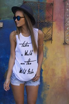 Helen Owen in 12th Tribe Wild Tank. Show us your wild and grab yours online.