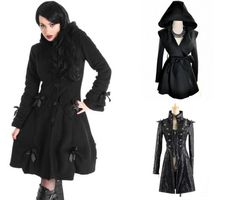#Goth jackets from #RebelsMarket