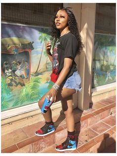 Swag Outfits For Girls, Girls Summer Outfits, Cute Swag Outfits, Chill Outfits, Teenage Outfits, Teen Fashion Outfits, Dope Outfits, Spring Outfits, Outfit Summer
