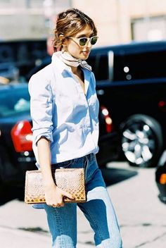 The Biggest Outfit Trend in NYC Right Now | WhoWhatWear UK