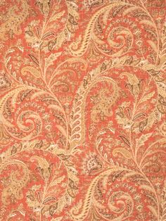 Allendale in color Spice from Fabricut's Chromatics XVIII - Sienna color book.
