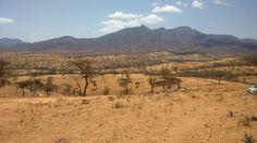 Mathew Ranges in Samburu Kenya,Ngilai.