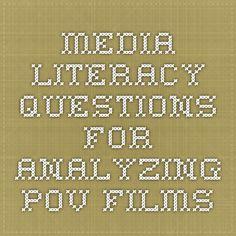 Pov povdocs on pinterest media literacy questions for analyzing pov films fandeluxe Gallery