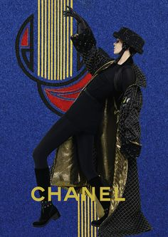 Chanel Fall/Winter 2016/2017 Campaign - Mariacarla Boscono and Sarah Brannonby - Karl Lagerfeld
