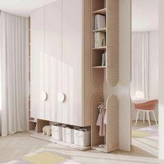 Kids Bedroom Designs, Home Room Design, Kids Room Design, Bed Design, Baby Room Decor, Bedroom Decor, House Rooms, Interiores Design, Room Interior