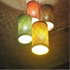 Pendant Lamps Set of  Four from KraftInn
