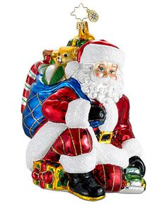 Christopher Radko Christmas Ornament, Just for You - All Christmas Ornaments - Holiday Lane - Macy's