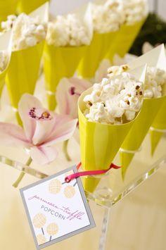 parmesan-truffle popcorn by Boutique Bites
