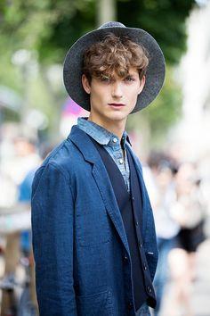 Street Looks from Paris Menswear Week Spring/Summer 2016 40