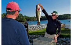 Bass fishing at Dreher Island State Park