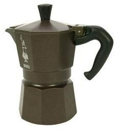 Espressokeitin 3 Moka colour ruskea