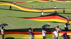 2014 FIFA World Cup™ - Photos - FIFA.com Longest German flag made by Bangladesh farmer about 3.5-kilometre-long (2.2 mile)