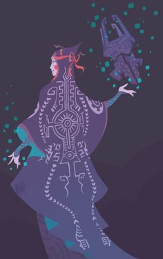 Legend of Zelda Twilight Princess art > Midna and the fused shadows The Legend Of Zelda, Legend Of Zelda Breath, Twilight Princess Midna, Zelda Tattoo, Sea Wallpaper, Draw Two, Princess Art, Wind Waker, Character Design