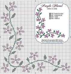 This Pin was discovered by shi Cross Stitch Boarders, Cross Stitch Numbers, Cross Stitch Flowers, Modern Cross Stitch, Cross Stitch Designs, Cross Stitching, Cross Stitch Embroidery, Cross Stitch Patterns, Hand Embroidery Designs