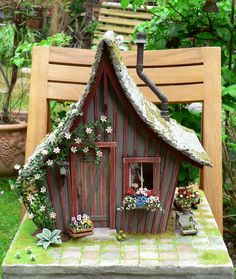 Garden shed in teamwork with Karin Caspar,who build the house