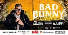 Bad Bunny en Tijuana está SOLD OUT pero #TijuanaEventosinvita!  Anunciamos CONCURSO a las 9 pm estén atentos :D