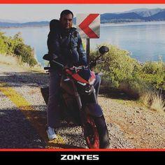 #Zontes S250 Türkiye yollarında ilerlemeye devam ediyor! Serhat Kara'ya bu güzel fotoğraf için teşekkürler.