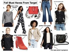 Fall Must Haves From Target - Jaclyn De Leon Style- affordable Fall Fashion + what to wear this season + casual street style inspiration + winter outfit style ideas + fall trends to wear this season