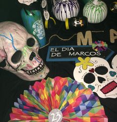 El Dia De Marcos Inspired by El Dia De Los Muertos #23rdbirthday #celebration #party #handcrafted #handmade #handpainted #partygoods #decor #decoration #design #designer #style #stylist #events #eventos #eventdecor #eventdesigner #yourexperiencematters #jodesigns