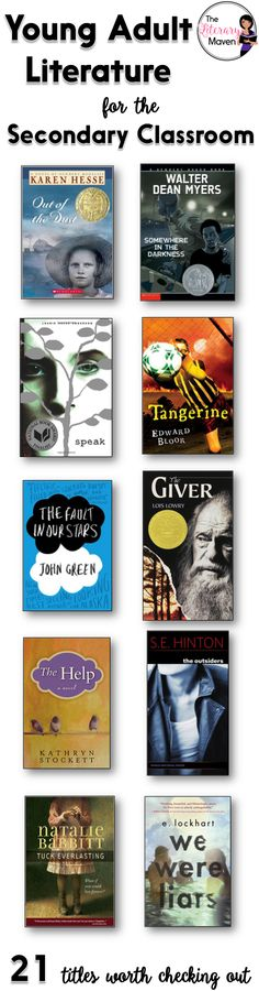 Out with the old and in with the new! Contemporary young adult literature has so much to offer when used in the classroom. Its topics resonate with students and its characters are relatable; students can find parts of themselves in the novels. If you are making additions to or revising the reading list for your English Language Arts course, here's 21 young adult literature titles that are worth checking out for middle school and high school students.