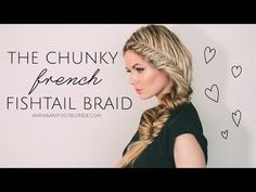 I adore this chunky fishtail braid by Amber Fillerup from Barefoot Blonde. It's absolutely adorable and has the perfect romantic touch to it:)