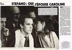 Coupure de presse Clipping 1983 (8 pages) Caroline de Monaco Stefano Casiraghi | eBay