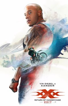 """Wait until you see where Cage is tattooed. Vin Diesel is back in the """"xXx: Return of Xander Cage."""" In this clip, given exclusively to Inked prior to the film's"""