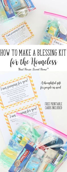The best way to be thankful for what we have, is by giving to those who don't have much, or anything at all. This Holiday season make a 'Blessing Bag for the Homeless'. Keep 2 or 3 in your car, hand them out when necessary, and watch them smile.