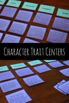 Hands on centers to help students develop a better understanding of character traits.  Students must think about what characters with certain traits will do, say, and think.  Includes mazes, spinner activities, and a character trait sort for 3rd grade, 4th grade, and 5th grade.