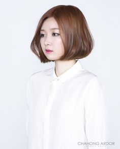 Fan Bob Style 팬 보브 스타일 Hair Style by Chahong Ardor