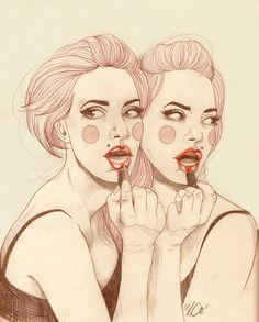 Glamourpuss - Liz Clements Illustration