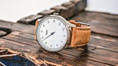 Premium Quality Luxury Watch. A new and natural interpretation of time. Swiss 24 hours movement and Italian leather.