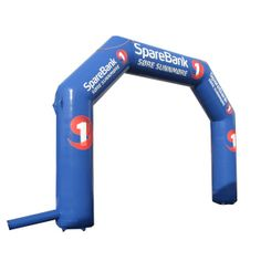 Inflatable Arches : Sparebank Inflatable Arch AQ3051 www.airquee.co.uk